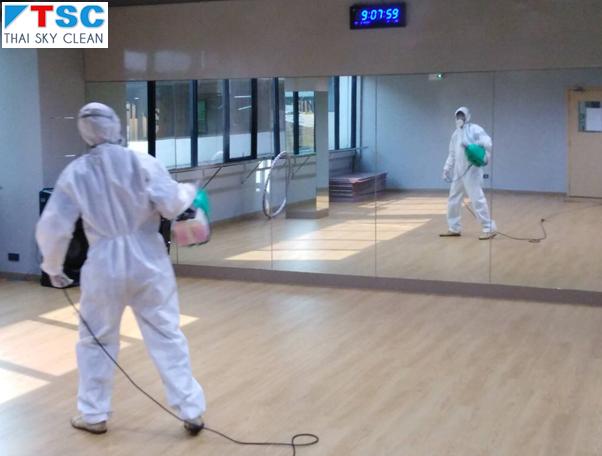Thai Sky Clean บริการพ่นยาฆ่าเชื้อโรค